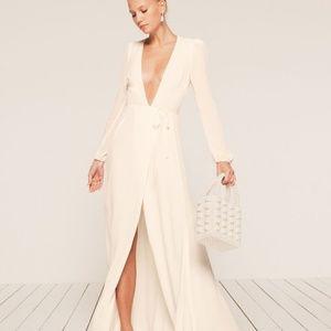 Ivory Reformation Milan Dress